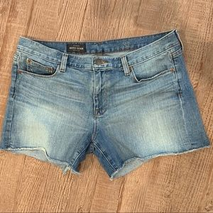 J Crew INDIGO DENIM cut offs